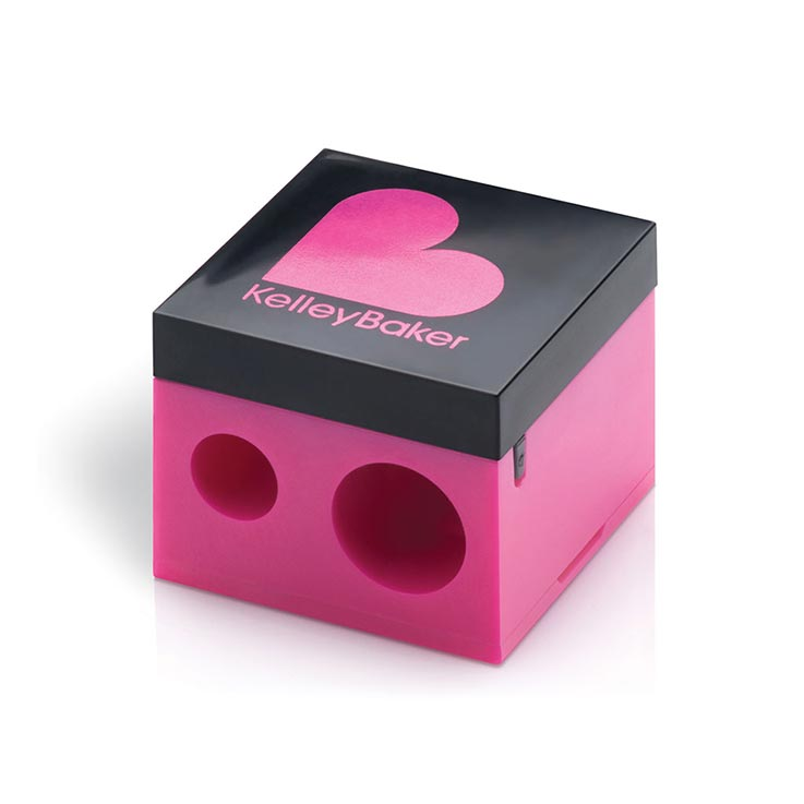 Dual Pencil Sharpener by Kelley Baker Brows | Naples Wax Center Brow Products