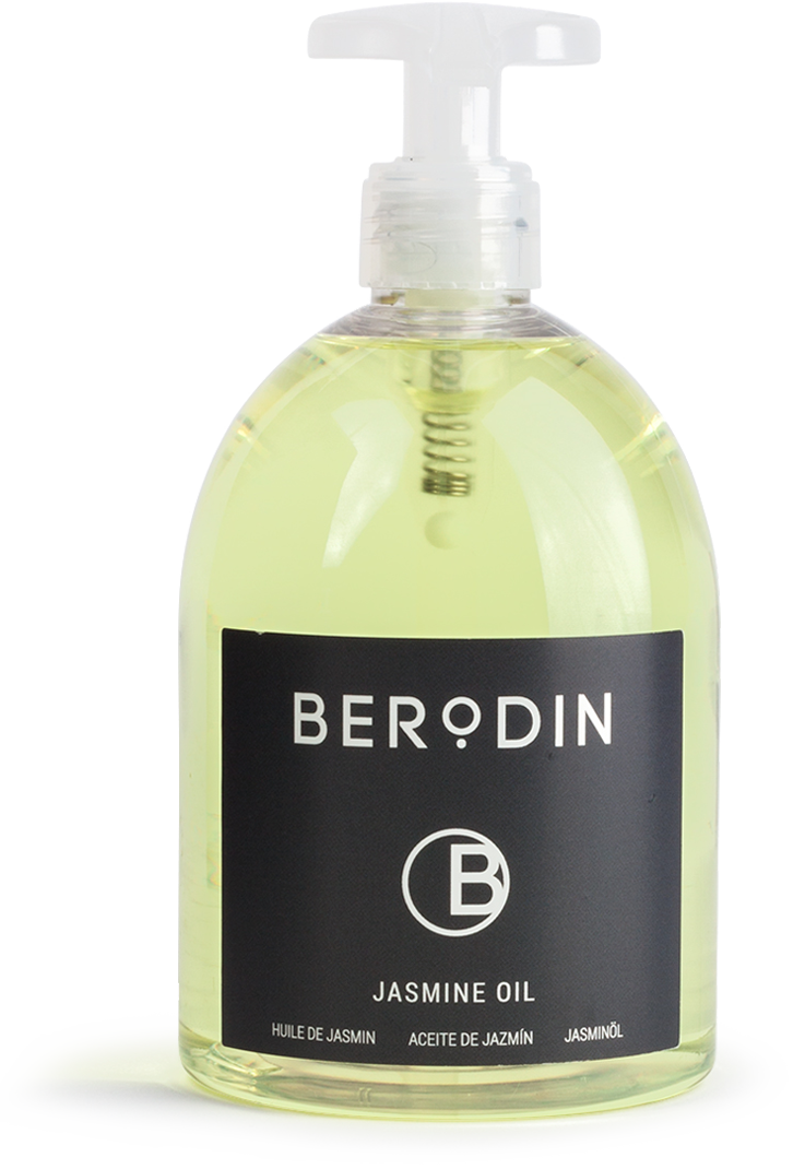 Step 2: Berodin Jasmine Oil | About Naples Wax Center's 5-Step Process