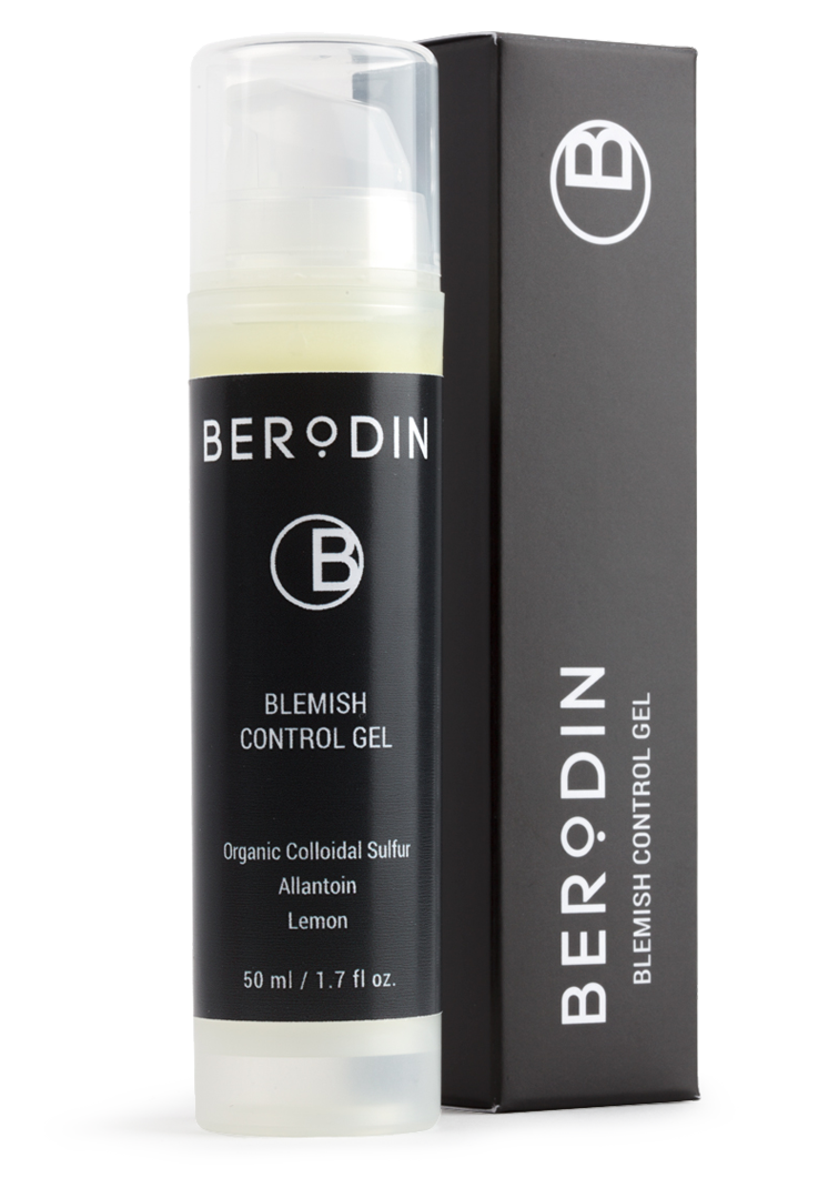 Step 5: Berodin Clear It Blemish Control Gel | About Naples Wax Center's 5-Step Process